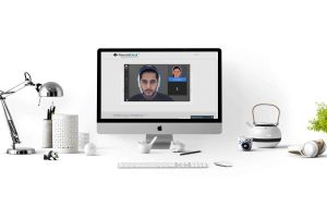 Remotedesk, the world's most advanced AI-based remote workforce management solution for work-at-home compliance and security.