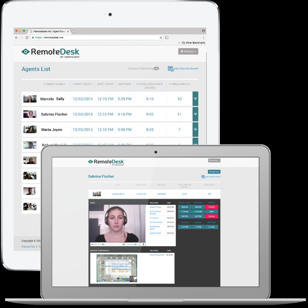 Remotedesk Demo Employee monitoring software