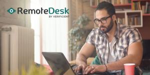 Remotedesk website