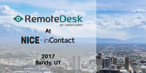 Remotedesk attended the NICE InContact Conference in Sandy, UT, from October 3rd to 4th, 2017 at the inContact headquarters.