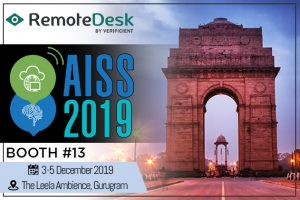 Remotedesk exhibits at AISS 2019