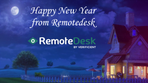 Happy new year 2020 remoteDesk by verificient