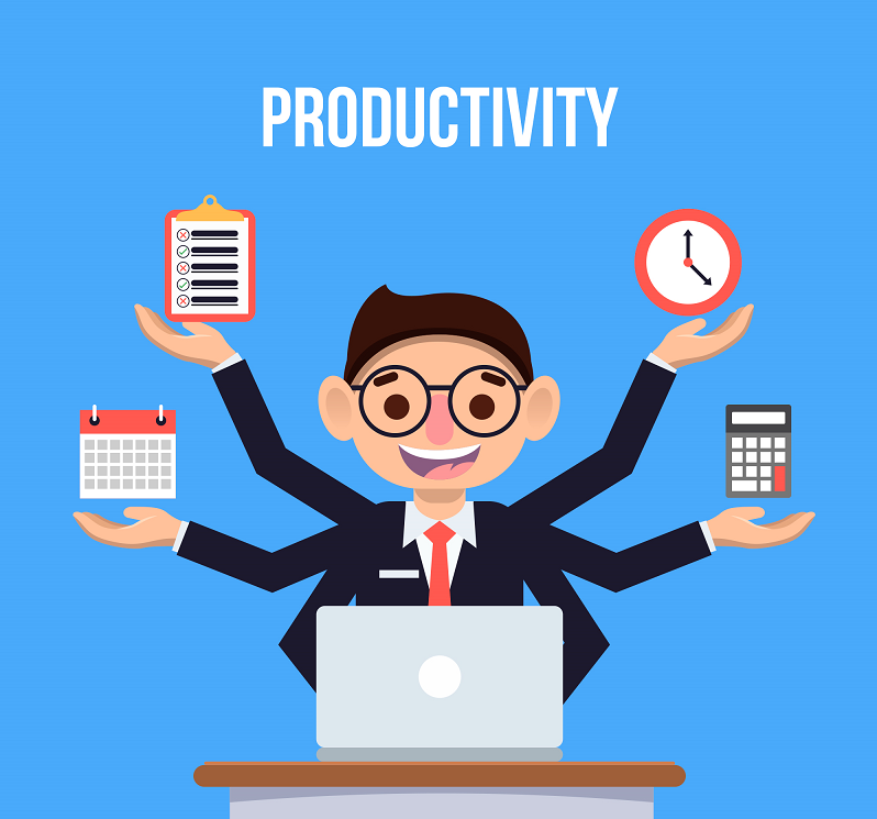 time tracking software and time-stamped reports, tracking employee productivity with remotedesk