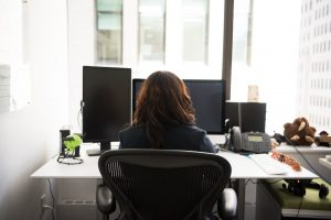 Employee can work from home (WFH) with the help of remotedesk monitoring software. workforce in IT sector